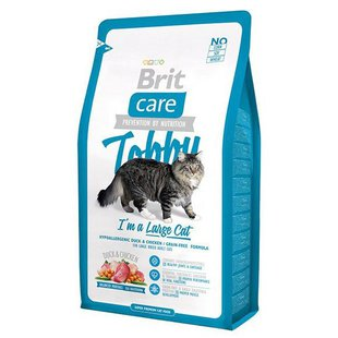 Корм для кошек Brit Care Tobby I'm a Large Cat