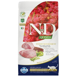 Farmina N&D Feline Quinoa Weight Management Lamb
