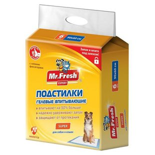 Пеленки для собак впитывающие Mr. Fresh Super F509 90х60 см