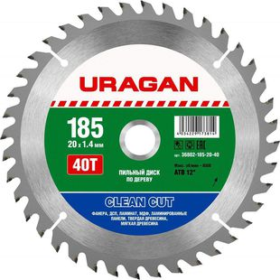 "Uragan ""Clean Cut"" 36802-185-20-40"