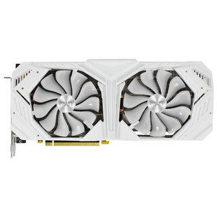 Видеокарта Palit GeForce RTX 2080 SUPER 1650MHz PCI-E 3.0 8192MB 15500MHz 256 bit HDMI HDCP White GameRock RTL