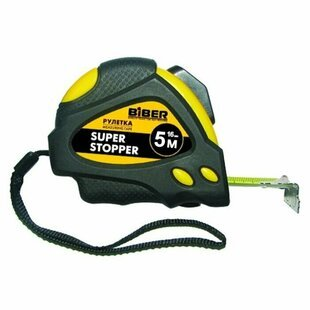 Рулетка Biber Super Stopper 40123 19 мм x 5 м