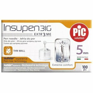 Игла Pic solution Insupen 31G 5mm 31G