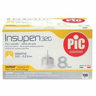 Игла Pic solution Insupen 32G 8mm 32G