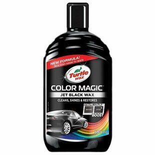 Воск для автомобиля TURTLE WAX полироль Color Magic Jet Black Wax